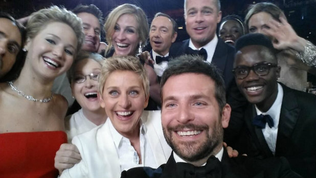 Селфито на Оскарите всъщност е чиста реклама