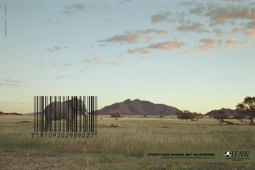 20 рекламни кампании на животни, които ни показват жестоката истина
