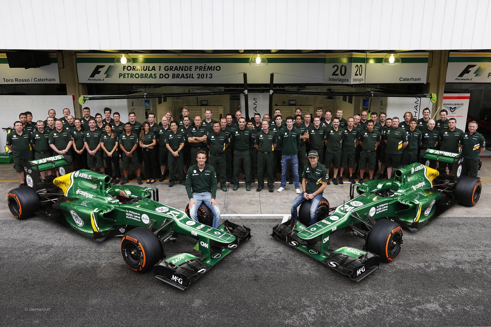 Caterham стартират crowdfunding кампания за финала на Формула 1