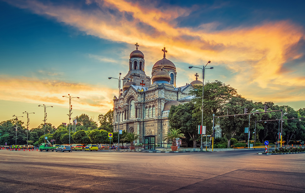 The Cathedral of the Assumption in Varna