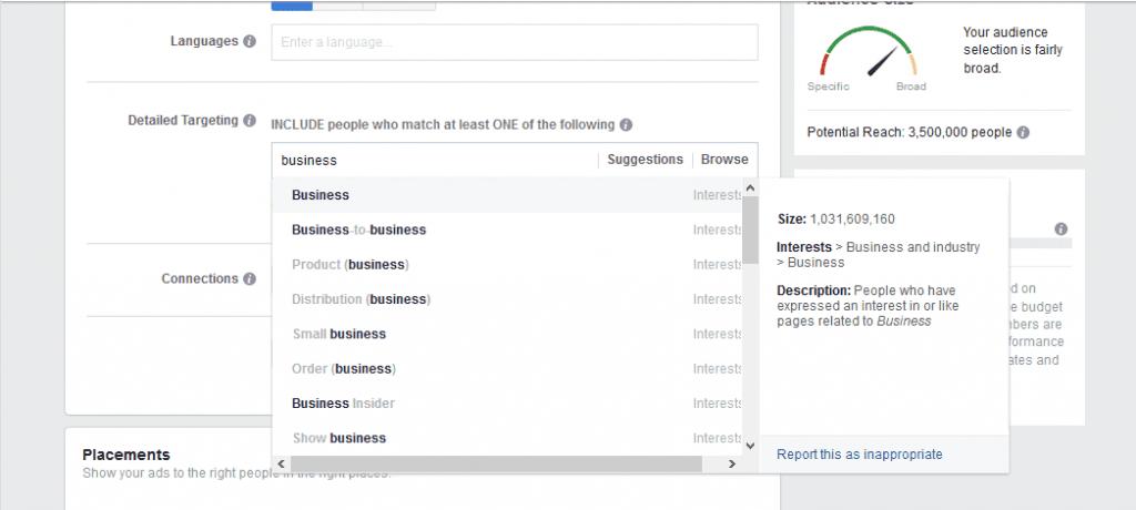 Психографика във Фейсбук рекламите
