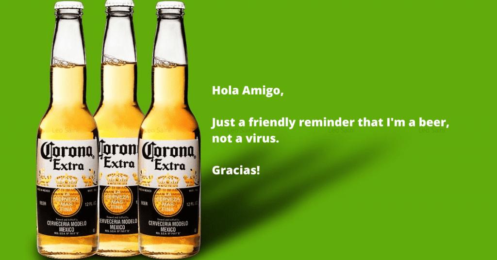 Бира Corona и реклама, която я разграничава от коронавируса